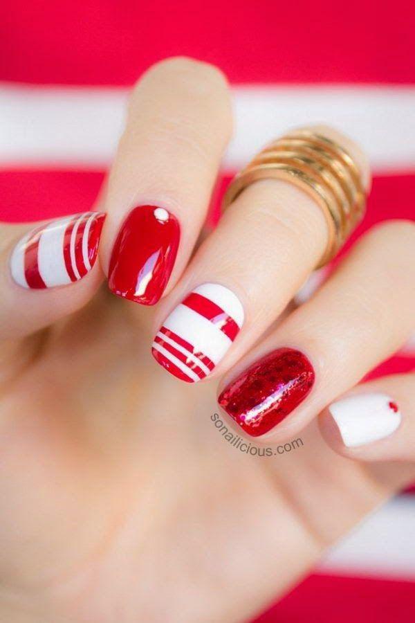Prepara tus uñas para esta navidad!!!   Cuidar de tu belleza es facilisimo.com