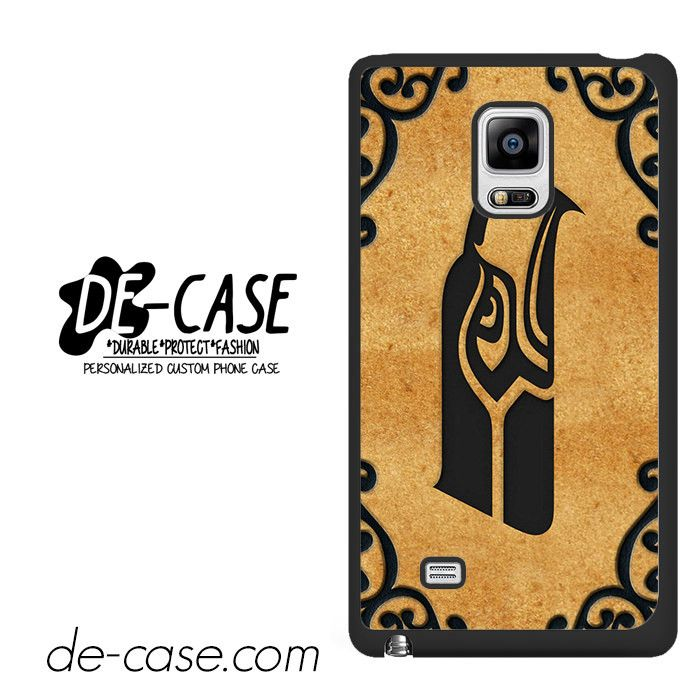 Seattle Seahawks Football NFL Brown DEAL-9456 Samsung Phonecase Cover For Samsung Galaxy Note Edge