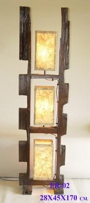 Reclaimed Fencepost Lamp FR 02  $595.00