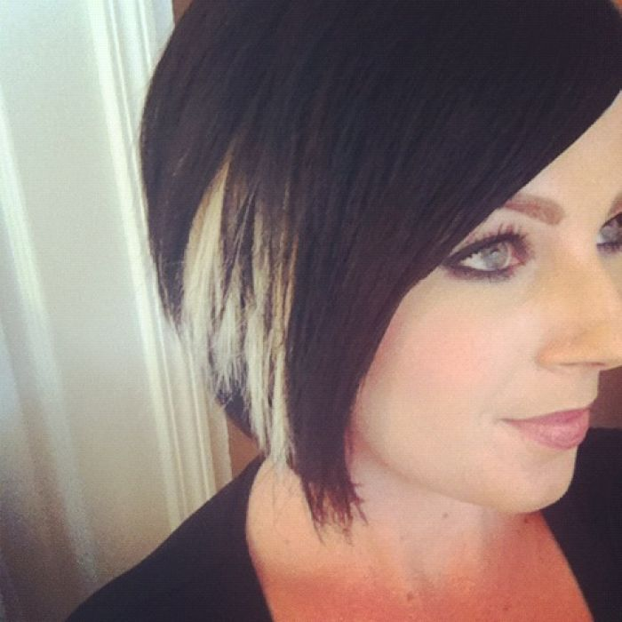 Peekaboo highlights for short hair trendy hairstyles in the usa peekaboo highlights for short hair pmusecretfo Image collections