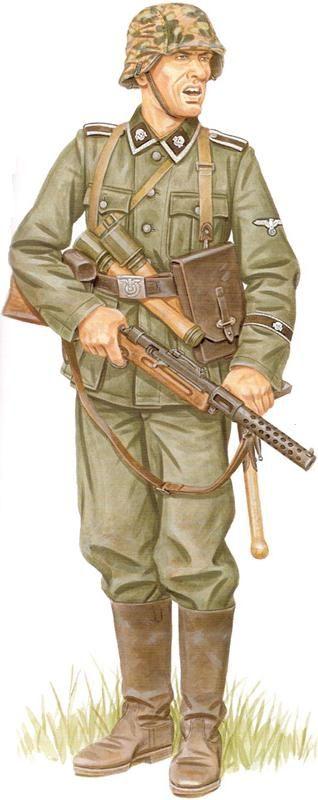 Waffen SS - 3rd SS Panzer Division Totenkopf, May 1940, France