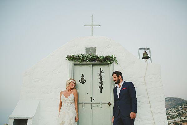 Ρουστικ γαμος στην Υδρα | Νια & Θοδωρης - Love4Weddings