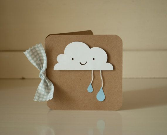 Clouds Baby Shower Thank You Cards Invitations by CardinalBoutique, $74.00