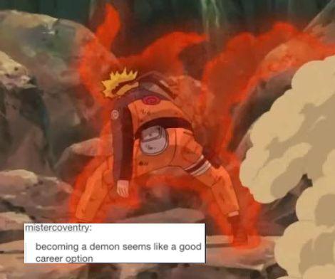 naruto text post meme | Tumblr