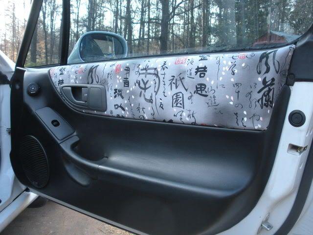 DIY: Del Sol Panels Upholstery - Carolina Hondas