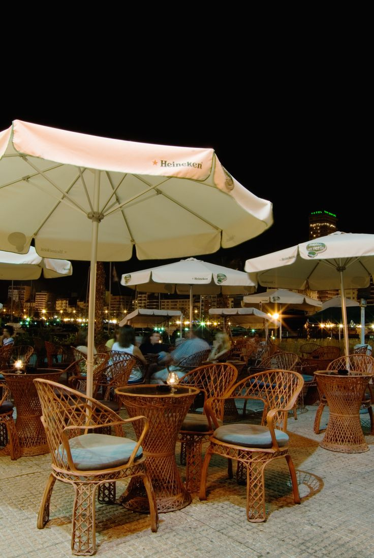 #kitsch #style #discoteque with terrace above the harbor #arredamento #stile #ospitalità #musicbar #chalet #furniture #style