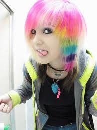 Ambrehhh Is Dead rainbow hair300300 Pixel, Awesome Hair, Katelyn Beals, Amazing Hair, Girls Scene, Amber Katelyn, Scene Girls, Dead Rainbows, Colors Hair