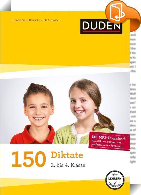 Die Diktatsammlung von Duden gibt Grundschülern Sicherheit beim Schreiben. Klar strukturiert nach Klassenstufen decken die abwechslungsreichen Übungsdiktate alle Bereiche der deutschen Rechtschreibung ab. Griffige Merksätze erklären die Rechtschreibregeln. Ein Einstiegskapitel für Eltern zeigt, wie Lehrer in der Schule diktieren. So können Eltern und Kinder gezielt üben und sich erfolgreich auf das nächste Diktat vorbereiten. Mit Diktatwörtern für die 1. Klasse. Alle Diktate sind auch als…