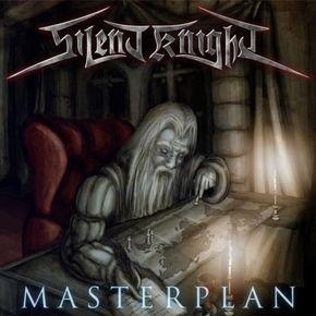 Australian classic power metal band Silent Knight - Masterplan CD.