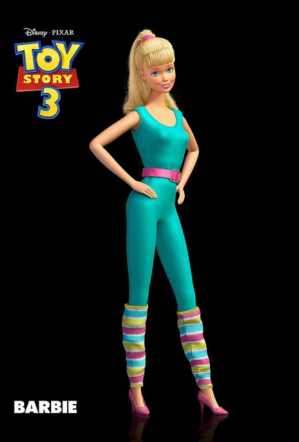 Barbie from the Toy Story 3. #toystory #barbie