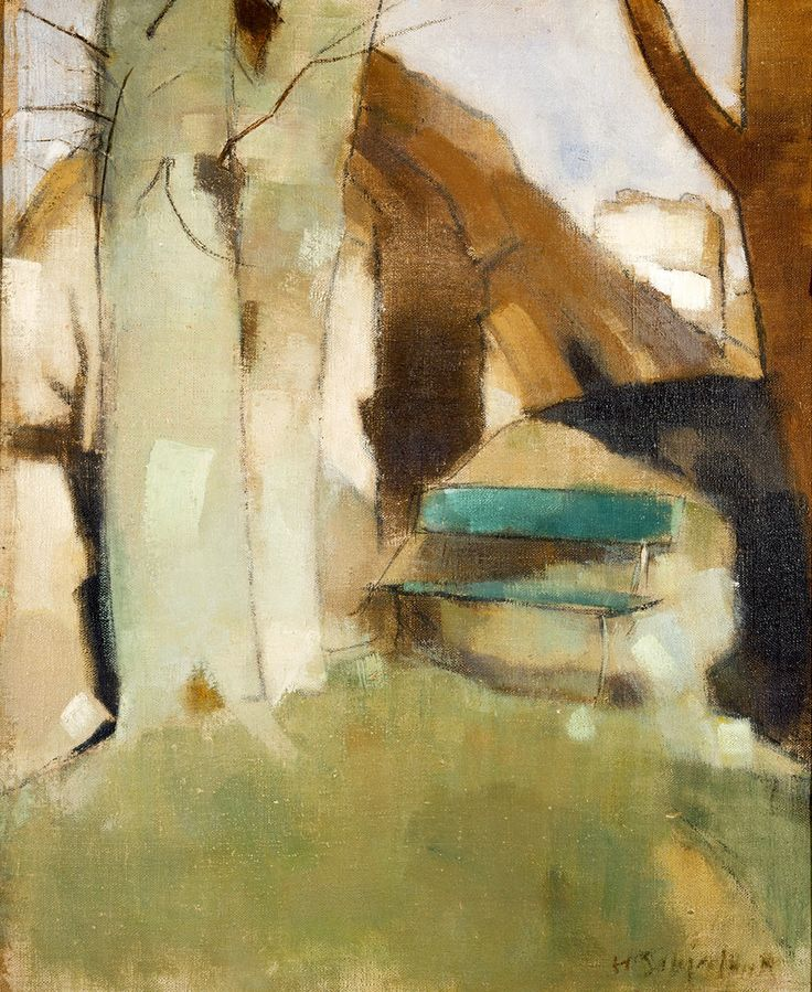 The Athenaeum - Shadow on the Wall (Helene Schjerfbeck - )