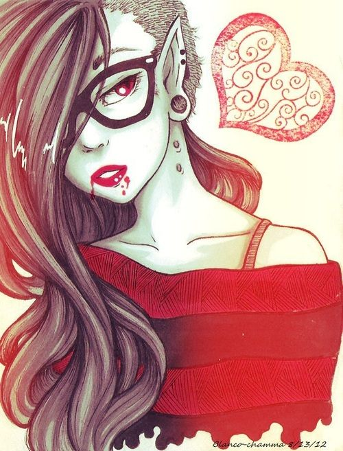 Hipster Marceline???????????? say what? Okay, I have to admit I look cute but I'm just not....