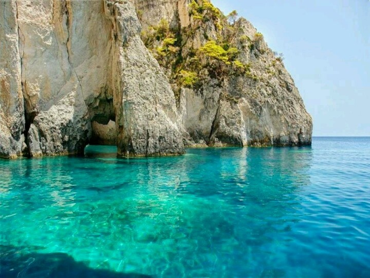 Zakyntos island, blue caves
