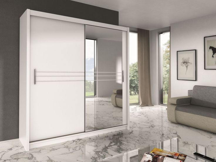 Harlow 203 Armoire Moderne Blanche Ou Noire Worldefashion Com Hem Wardrobe Door Designs Wardrobe Furniture Stylish Bedroom Furniture