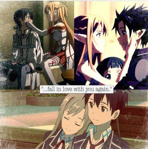kirito and asuna meet again