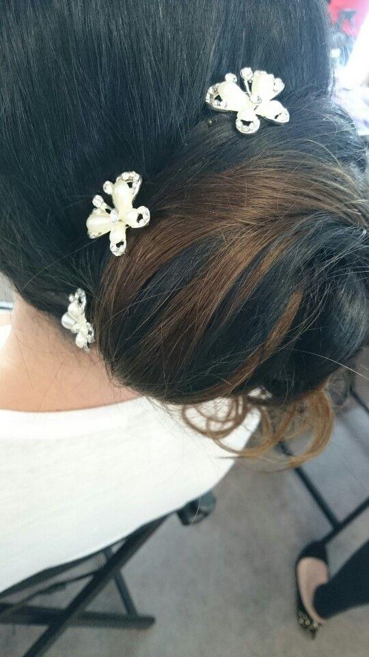 Bridal hair assesment