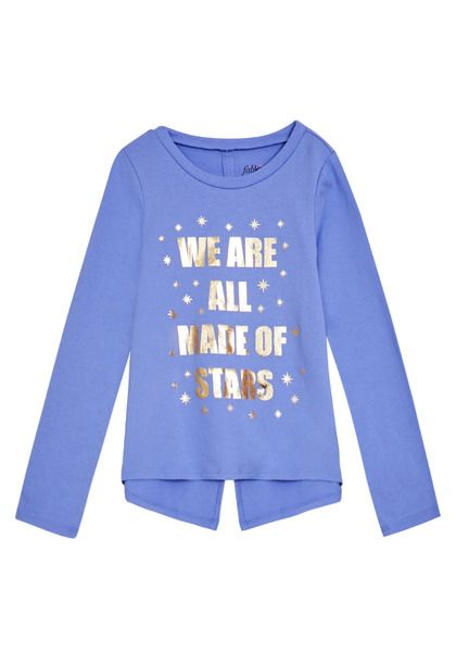 ed5c719df FabKids Tops & Tees We Are All Made Of Stars Tee Girls Purple Size XXS