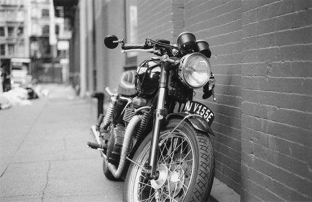 vintage cafe racer by _way, via Flickr