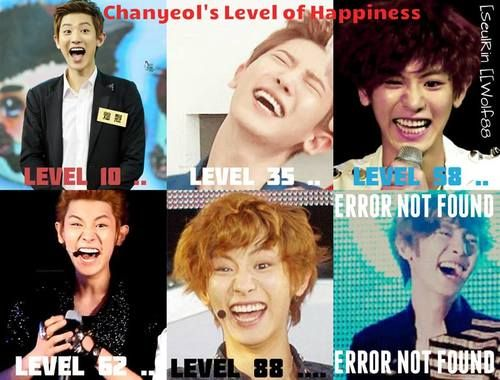 Lol this is chanyeol's level !!