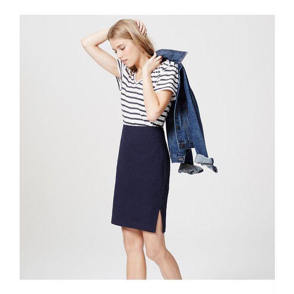 25  melhores ideias sobre Navy Blue Pencil Skirt no Pinterest ...