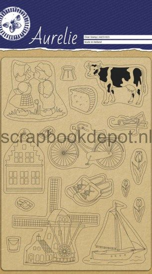 Aurelie Made In Holland Clear Stampset