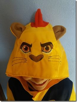 Mini Tuto déguisement de Kion (La Garde du Roi Lion) DIY Kion's costume (The Lion Guard)