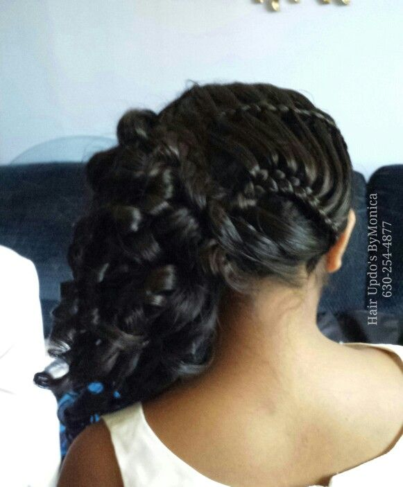 Quinceanera Hairstyles On The Side : 12 best quinceanera hairstyles images on pinterest
