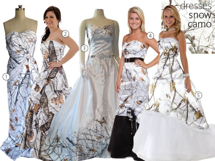 31 Camo Wedding Dresses and Bridesmaid Dresses | TheKnot.com