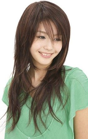 Hairstyles For Long Asian Hair : 9 best for asian hair images on pinterest