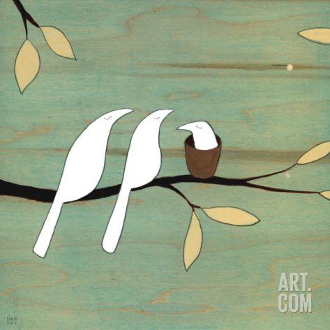 Baby Bird Print