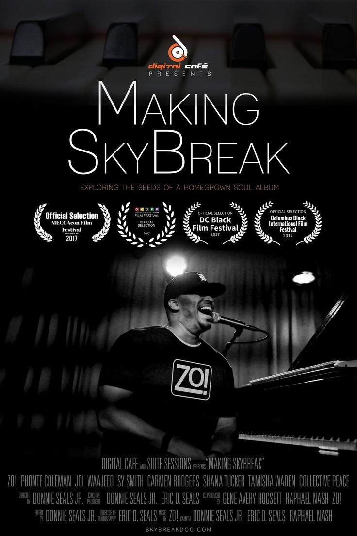"""""""While our upbringings may also be filled with strife, trials and tribulations, home will always have a piece of our heart.  This is one of the central themes in the entertaining documentary Making SkyBreak, the story of music producer Zo! and his quest to create his best album yet."""" See our write-up on #MakingSkybreak at our website and get your tickets for #dbff18 today! #dentoning"""