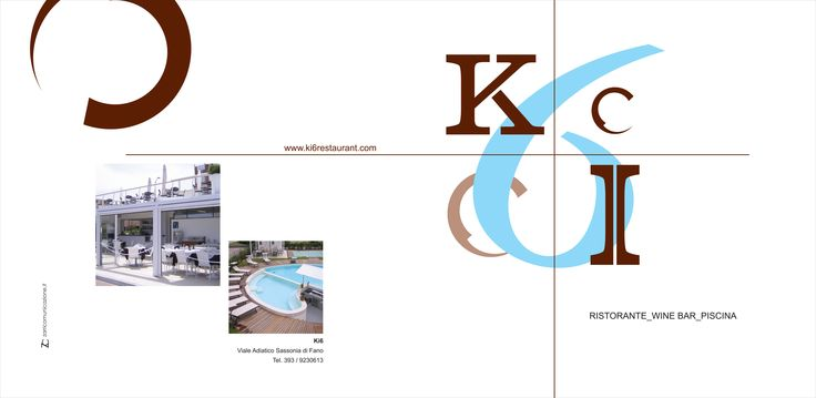 Ideazione logo e campagna pubblicitaria per il ristorante - wine bar Ki6 #winebar #ideazione #logo #fano