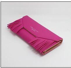 Fashion tassel envelope women wallet long pattern Wallets Purses Famous Brand women purse for sale