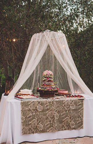 Bohemian Malibu Hills Wedding
