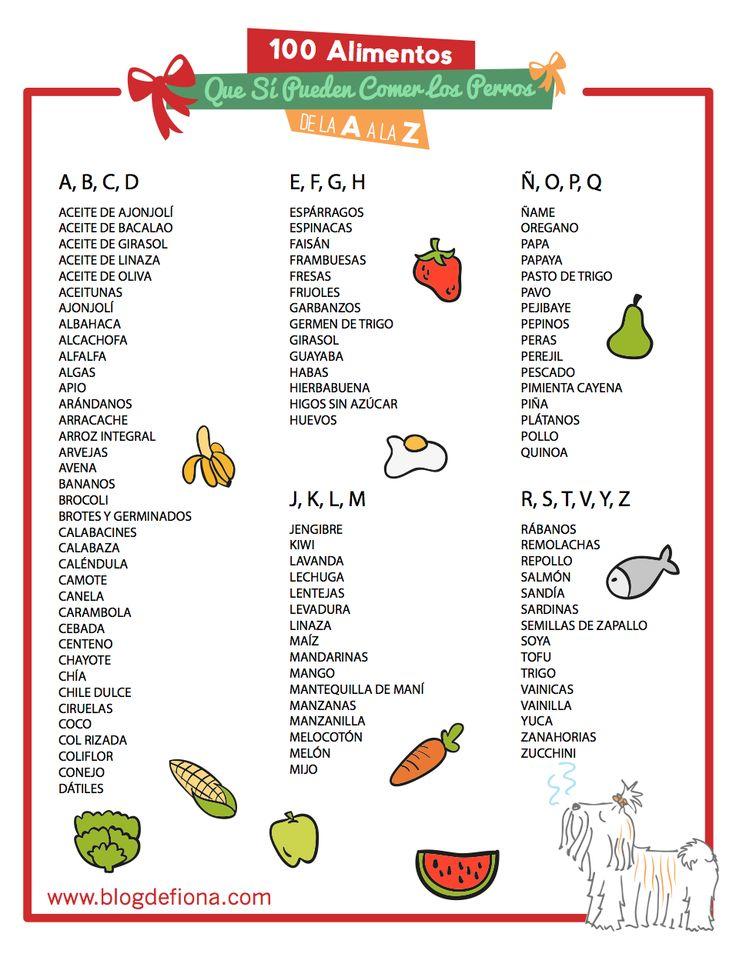 Los 100 alimentos mascotas