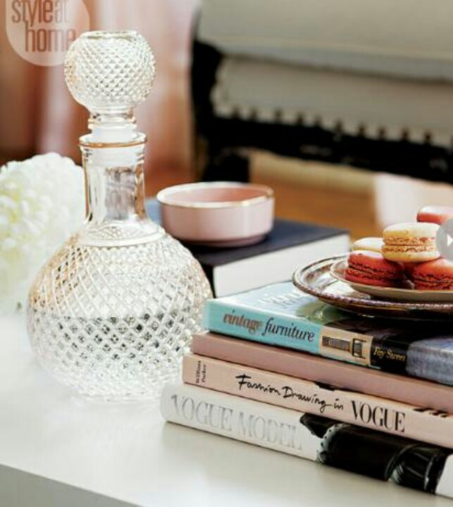 Coffee table #styling #decor