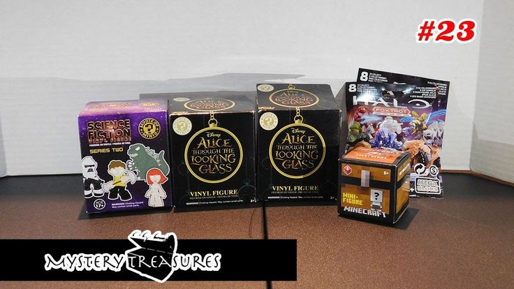 Mystery Treasure #23 - Unboxing Funko Mystery Minis, Minecraft and Halo ...