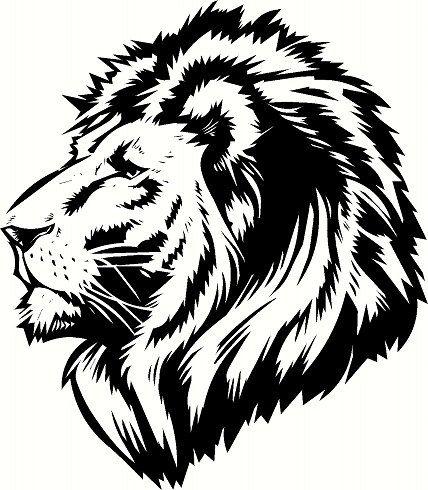 Lion Head 2 by BigDDesign on Etsy