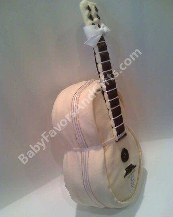 Unique Diaper Cakes | Unique Diaper Cakes-Centerpieces-Baby Shower gift ideas: Guitar Diaper ...
