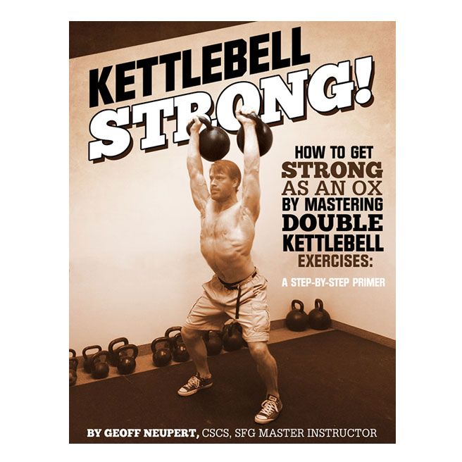 Shop Books & DVDs online, Kettlebell STRONG | Tough Guy
