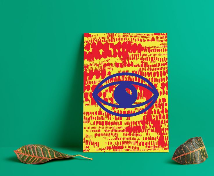 "My ""Labour of Love"" series of prints, can be found on Etsy. #art, #poster, #canvas, #colorful, #red, #blue, #design, #yellow, #homedecor, #Officedecor, #mesh, #eye, #digitalart"