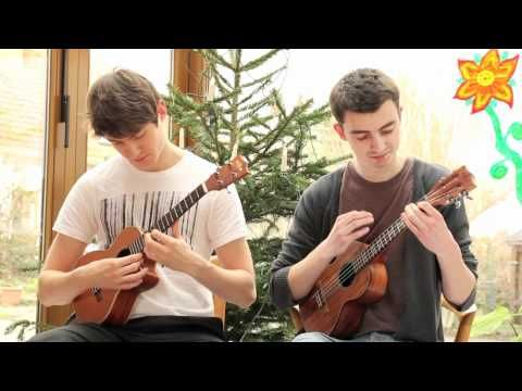 Amazing ukulele duet cover of Hotel California.  ( Many think this is just a CLASSROOM instrument. This was awesome ! )
