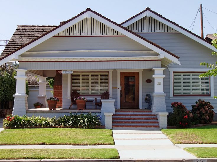 Perfect porch. craftsman bungalow | Bungalow Architecture Bungalow Resources