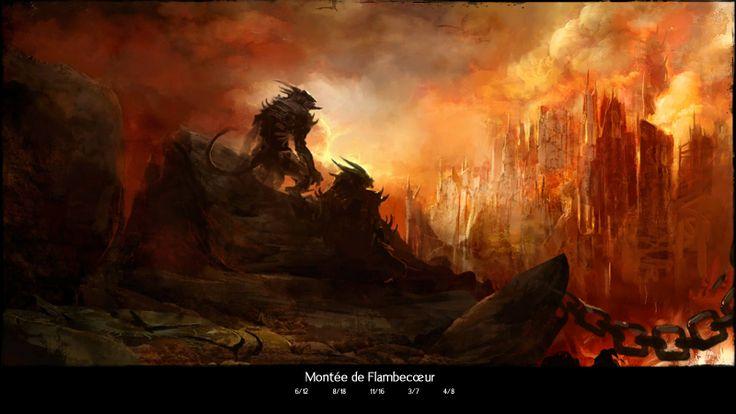 La montée de Flambecoeur