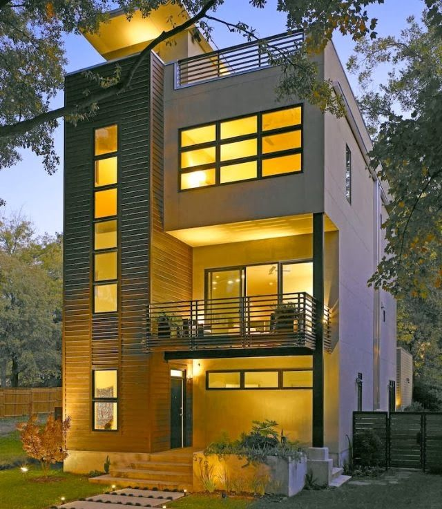 beautiful house designs for small lots. this looks awfully similar to the East Ave house in ATL by TaC Studios  though not sure if it s same or 45 best Narrow Houses images on Pinterest Small houses