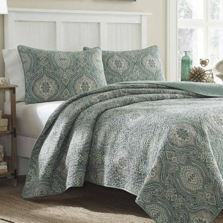Tommy Bahama Turtle Cove Reversible Quilt Set For Our