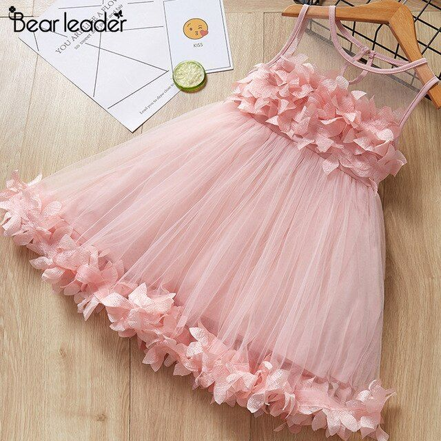 Bear Leader Girls Dress 2019 New Summer Style Brand Kids Dress Peter Pan Collar Sleeveless Striped Pattern Pring For Baby Dress Vestido Nina Boda Vestimenta De Ninos Y Vestidos Para Ninas