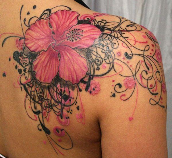 18 Shoulder Tattoos For Women