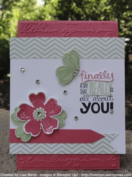 CCMC269 Finally! by Lisa Martz - Cards and Paper Crafts at Splitcoaststampers