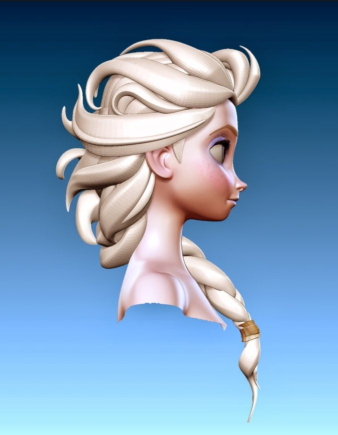 Chad Stubblefield - character design for Frozen and Rapunzel